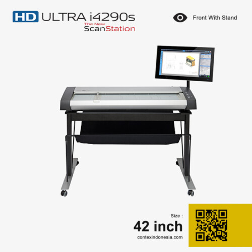 Scanner Contex Indonesia HD ULTRA i4290s New ScanStation 42 inch Front With Stand