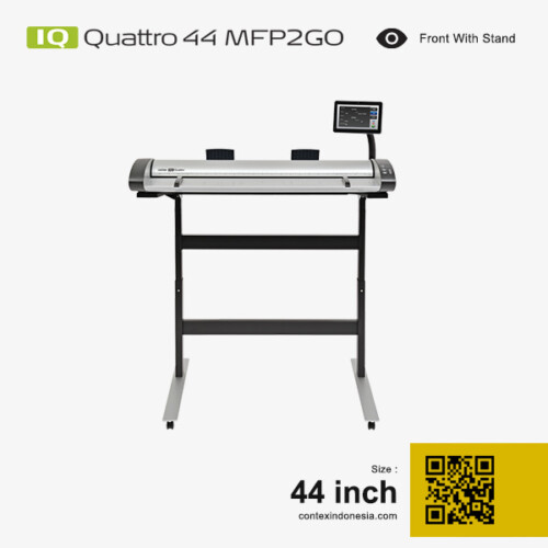 Scanner Contex Indonesia IQ Quattro 44 MFP2GO 44 inch Front With Stand