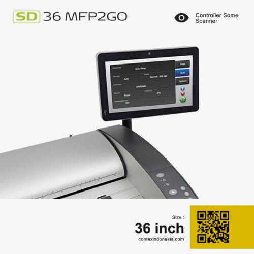 Scanner Contex Indonesia SD 36 MFP2GO 36 inch Controller Some Scanner