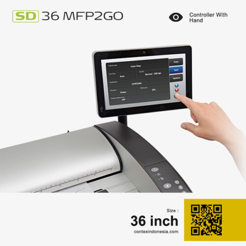 Scanner Contex Indonesia SD 36 MFP2GO 36 inch Controller With Hand